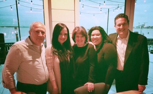 Nick Leonardos, Treasurer, Joy Petrakos, Christina Tettonis, Natasha Caban Vargas, Charles Capetanakis
