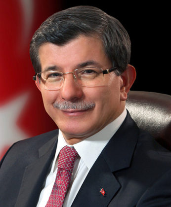 Former Prime Minister Ahmet Davutoglu