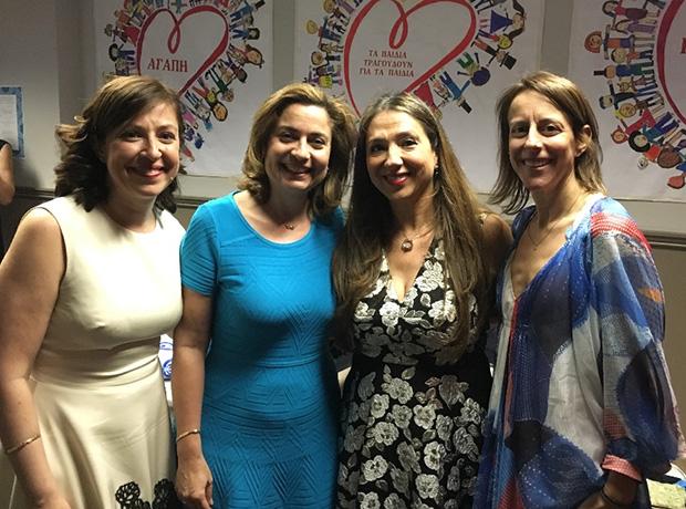 Lilly Gerontis-Pritchard, Anthousa Iliopoulos, Roula Lambrakis, Deana Thomas