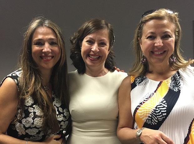 Roula Lambrakis, Lilly Gerontis- Pritchard, Dr. Korina Gerontis - Stratakis