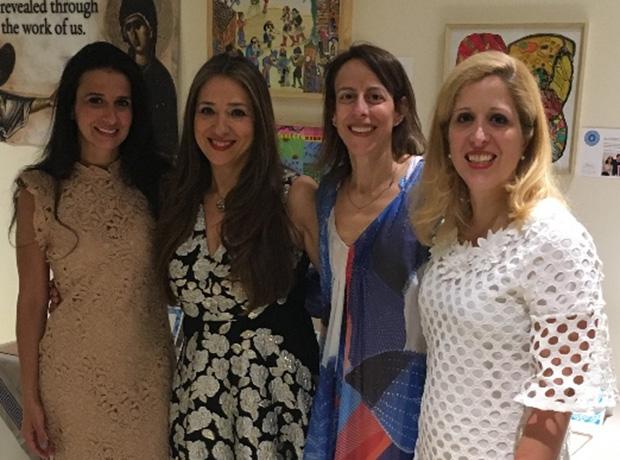 Olga Karloutsos- Palladino , Roula Lambrakis, Deana Thomas, Dr. Stella Lymberis