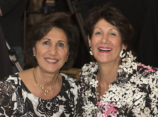 Evangeline Alpogianis with Maria Pappas, Cook County Treasurer