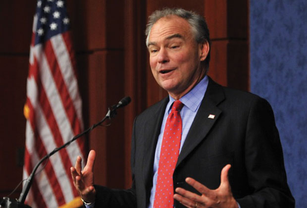 Nominee for Vice President, Senator Tim Kaine (D-VA)
