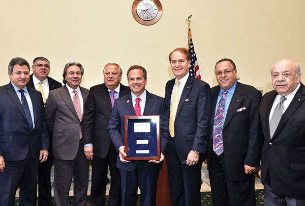 PSEKA and CEH leaders with Honoree Congressman David Cicilline (D-RI)