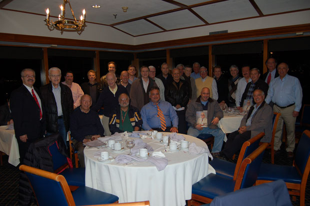 Members of AHEPA's District 6 Gold Coast Chapter 456