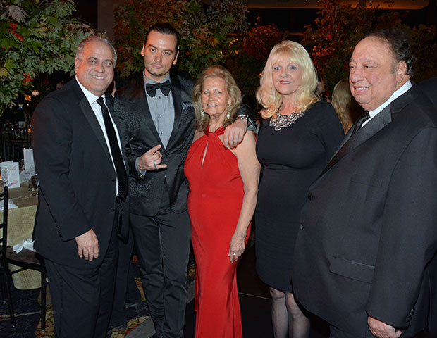 Left to right: George Venizelos, Constantine Maroulis, Evangeline Douris, Margo & John Catsimatidis