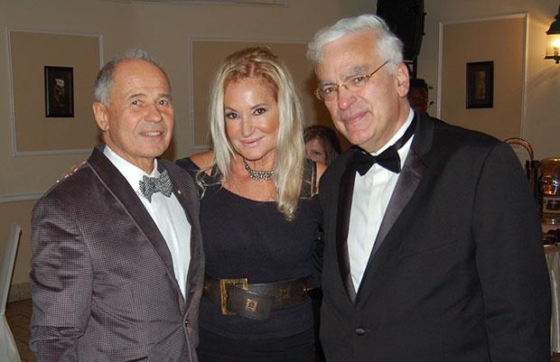 Peter & Aphrodite Skeadas with Ambassador Vassilis Philippou