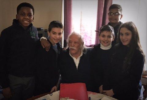Visiting Manolis Glezos