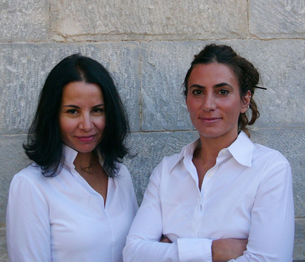 Aspa Papazaharia and Christina Fractopoulou of 'At Home in Greece'
