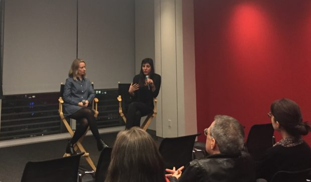 Director Daphne Matziaraki and Executive Producer Kathleen Lingo