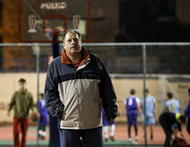 Coach Spiros Veliniatis