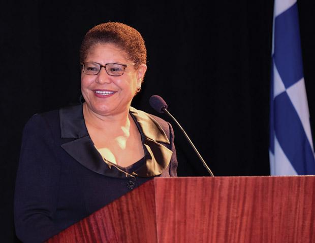 Honoree, Congresswoman Karen Bass, PHOTO: ALLEN ALTCHECH