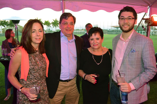 Lee Ann & George Anderson, Roula Paterakis (wife of H&S Bakery magnate John Paterakis, Sr.) and John Henry Iucker, PHOTO: YOUROBSERVER.COM