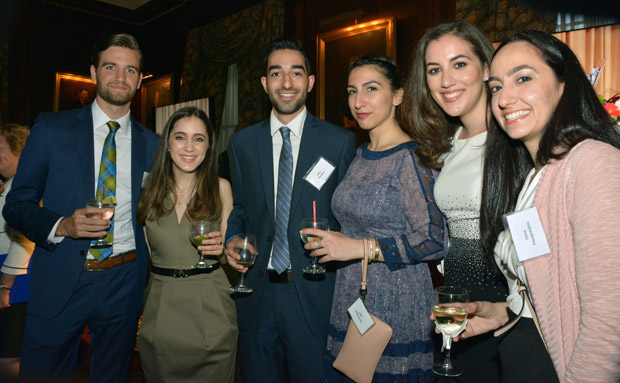 Members of the Cyprus-US Chamber Youth, PHOTO: ETA PRESS