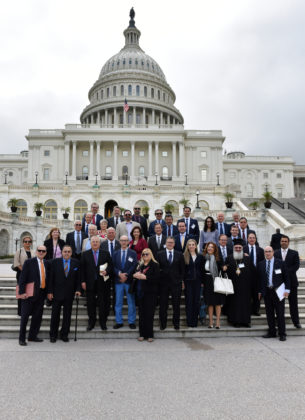 Conference participants on Capitol Hill