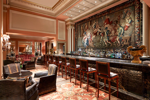 Alexander Bar was voted by Forbes magazine as the best hotel bar in the world