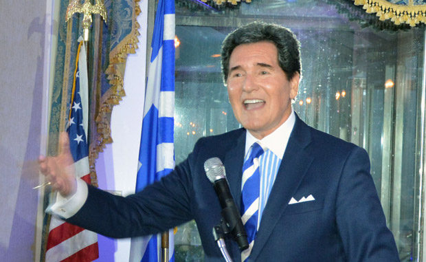 Ernie Anastos was Master of Ceremonies. Photo ETA Press