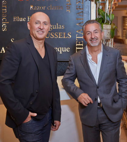 From left, Nick Tsoulos and Nick Pashalis, PHOTO: ANASTASIOS MENTIS