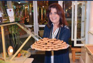 """""""Authentic and genuine is our brand,"""" says Regina Katopodis, founder of Artopolis, Photo ETA Press"""