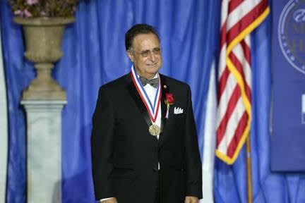 Having received the Ellis Island Medal of Honor
