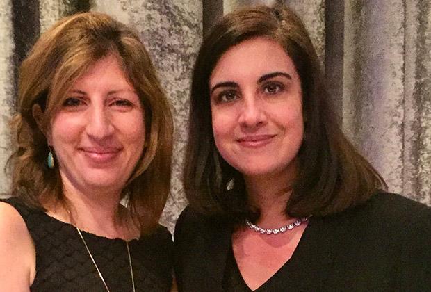 State Senator Nicole Malliotakis with Chris Salboudis