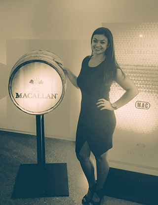 "Evangelia ""Angie"" Manolis is Market Manager – Metro New York at Edrington Americas, the Macallan US Distributor"