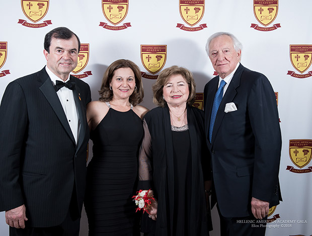 Jim and Marianthe Logothetis, Margo and George Behrakis, PHOTOS BY ELIOS PHOTOGRAPHY