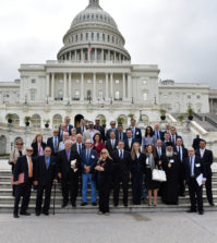 Last year's participants at the US Capitol