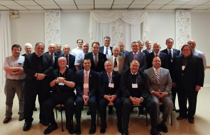 AHEPA Yankee District #7 members at the annual convention