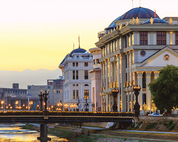 Skopje, the capital of FYROM