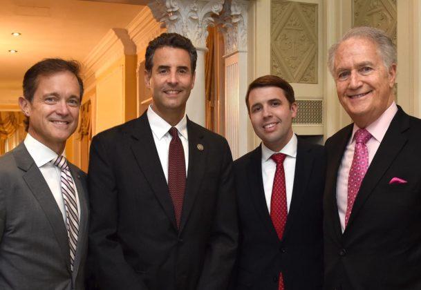 Chris Pappas with Congressman John Sarbanes, Andy Manatos and Mike Manatos