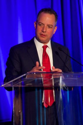 Former White House Chief of Staff and Paradigm Award Honoree, Reince Priebus; All photos courtesy of Sofia Spentzas - Spiral Art Design
