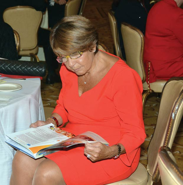 Mrs. Libby Angeliades, PHOTO: ETA PRESS