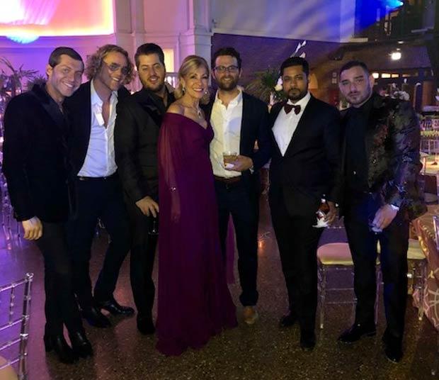 Evangelo Bousis, Emi Livaniou, Eleni Bousis, Katerina Panagopoulos, Yiannis Hadjiloizou, Peter Dundas; PHOTO: CHRIS BOUBRIS PHOTOGRAPHY