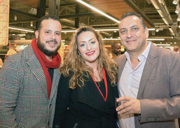 Mr. & Mrs. Duran with Nick Katopodis; Photo: ETA PRESS / Christos Cavvadas