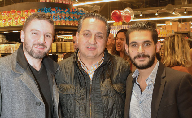 From left, Michael, Vangelis and Alex Gerasimou; Photo: ETA PRESS / Christos Cavvadas