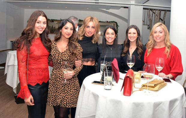 Anna Politis, Markella Mallas, Calliope Pantelidis, Maria Bregianos, Patricia Rigas and Antonia Exarhos; PHOTO: ETA PRESS