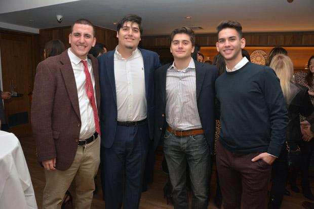Nicholas Vassiliou, Yannis & Lazaros Siozis, Angelos Katopodis; PHOTO: ETA PRESS