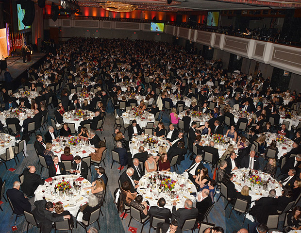 More than 1,300 attended, making the gala the largest in half a century