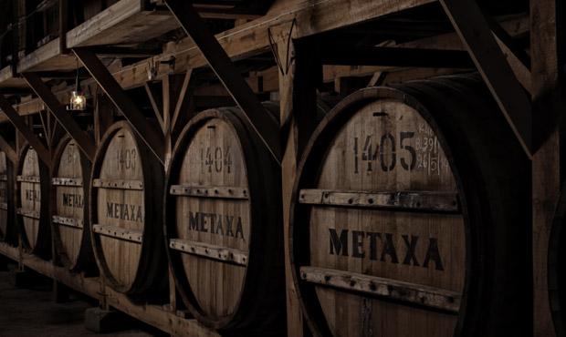 The Metaxa Cellars in Kifissia, Greece