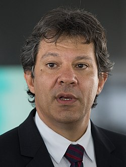 Former Mayor of Sao Paulo and presidential candidate Fernando Haddad
