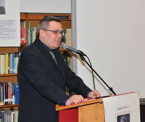Consul General of Cyprus Alex Phedonos-Vadet