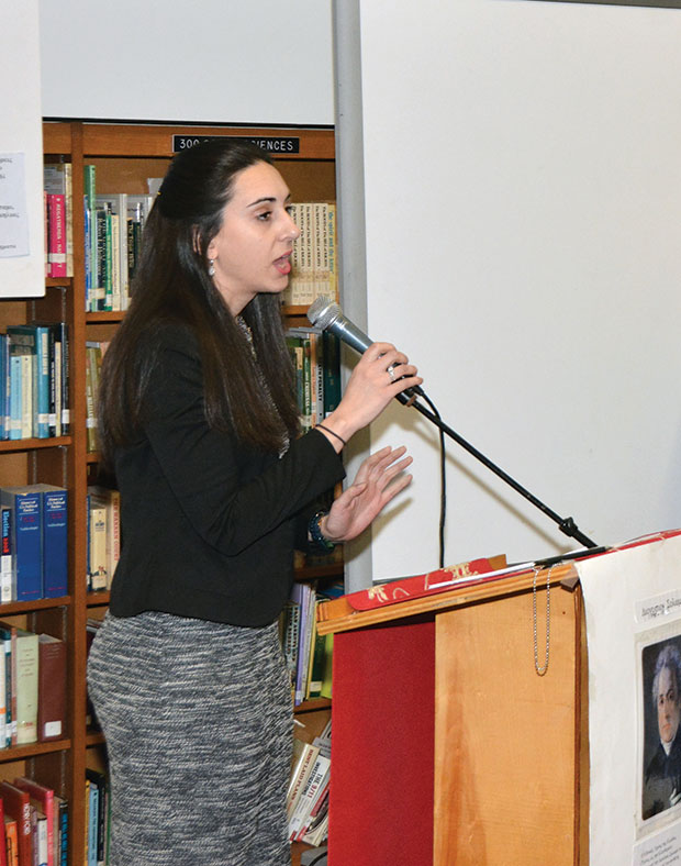 Mrs. Athena Filippou-Katehis, from the office of Education & Special Projects of the Greek Orthodox Archdiocese of America