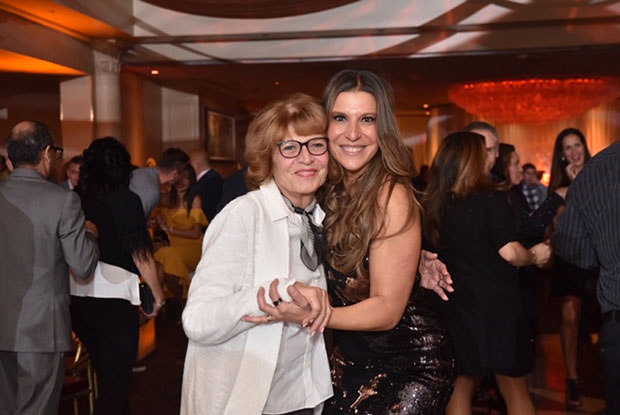 Angelo's mother In-Law Helen Vorillas with sister-in-law Stacey Vorillas