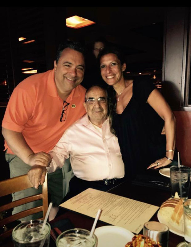 With my Father in-law Peter Vorillas and sister in-law Stacey Vorillas