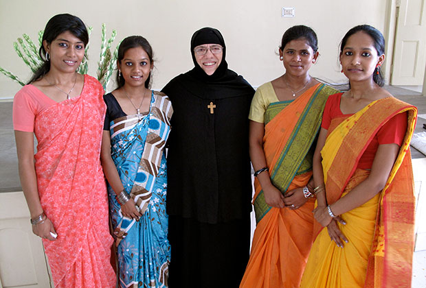We do not ask whether someone is an Orthodox, Muslim, or Hindu. He is a human being who suffers, says Sister Nektaria