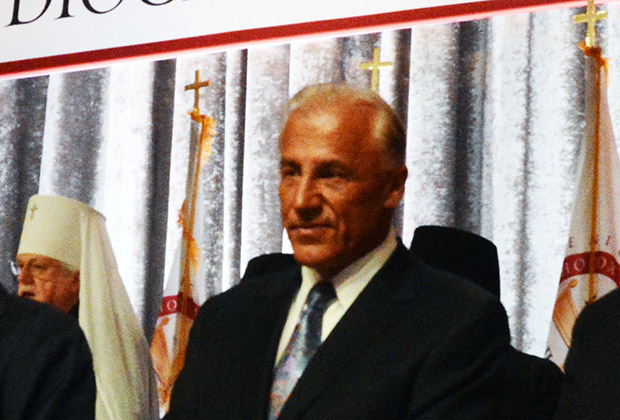 Dean Metropoulos spoke at the luncheon on behalf of the Faith Endownment