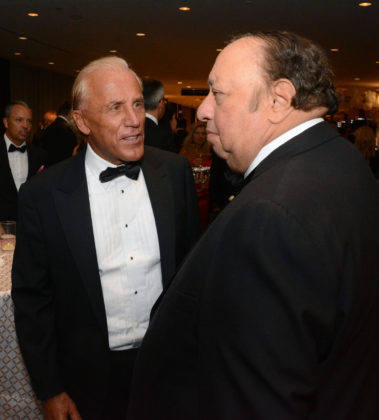 Dean Metropoulos with John Catsimatidis, PHOTO: ETA PRESS