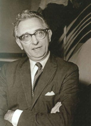 Filopoimin Finos, founder of Finos Films and patriarch of the Greek cinema