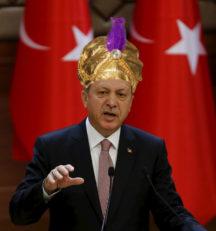 "Turkey's elected ""Sultan"" Recep Tayyip Erdodan"